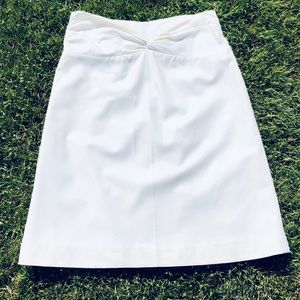 CHAIKEN Ivory Skirt Medium**Damage